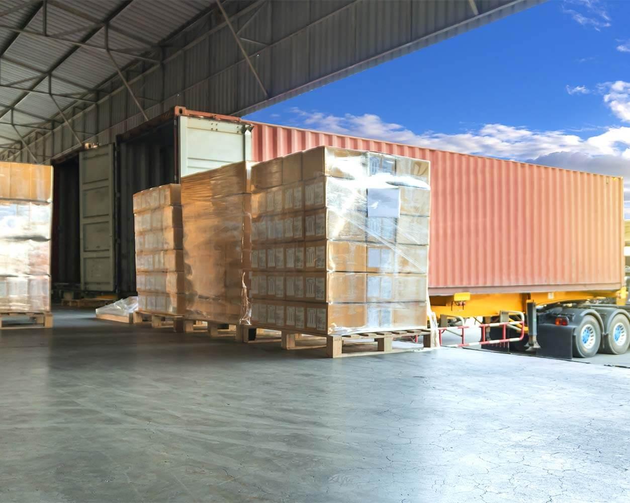 b2b logistics company