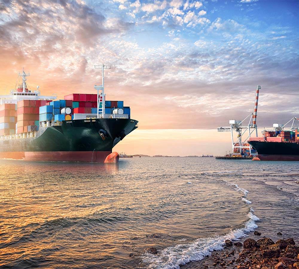 ocean air freight services